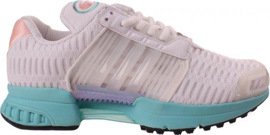adidas sneakers dames wit groen