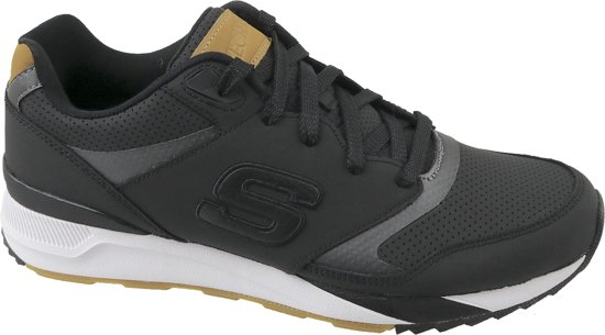 Skechers OG 90 52352-BLK, Mannen, Zwart, Sneakers maat: 41 EU