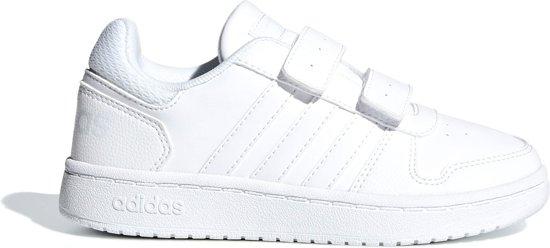 adidas Witte Hoops 2.0 Maat 28