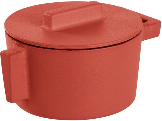 Braadpan Rood 10 cm incl deksel - Sambonet