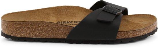 Birkenstock Madrid Smal Dames Slippers - Black