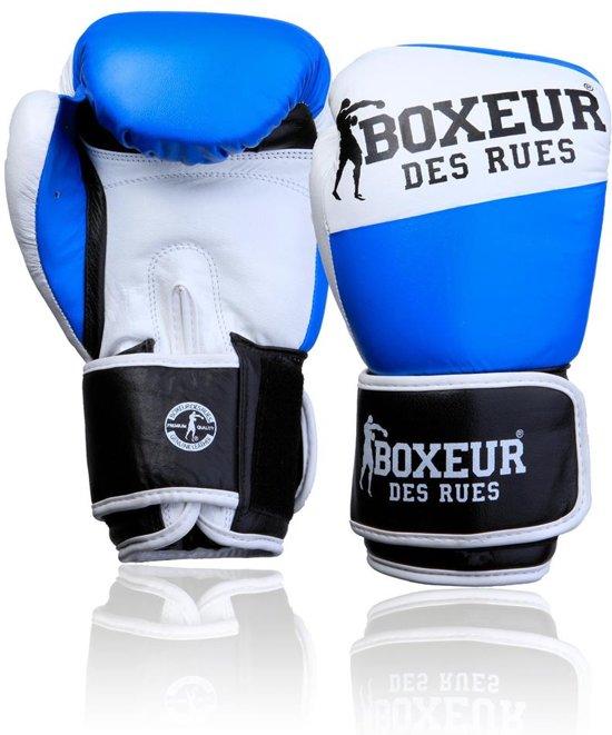 Premium Logo Leather BoxIng Gloves