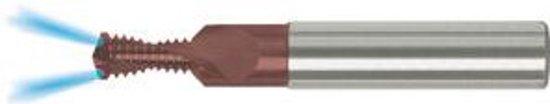 boor- en draadfrees DTMC-SP, voor binnendraad VHM TiCN-gecoat. HA/IK.R