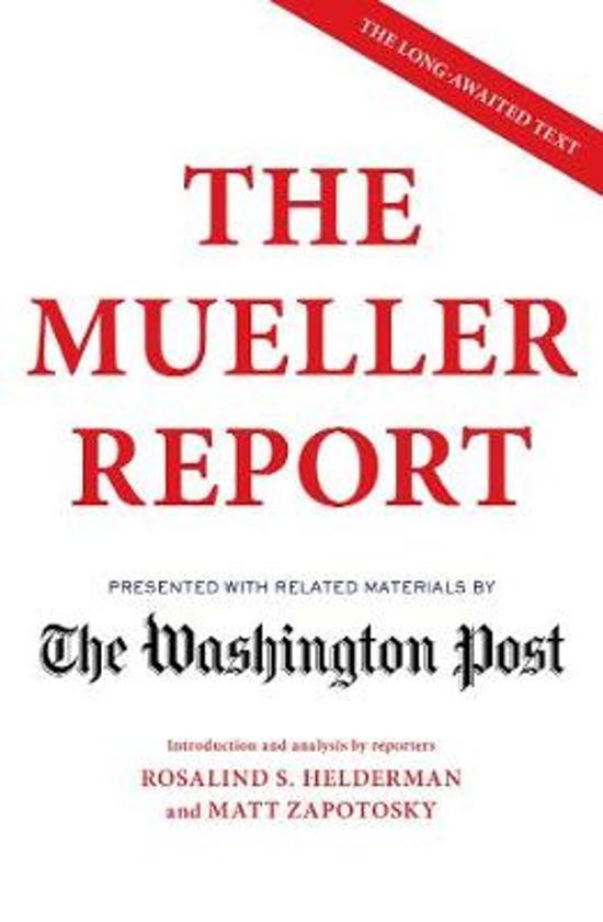 Boek cover The Mueller Report van Robert S. Mueller (Paperback)