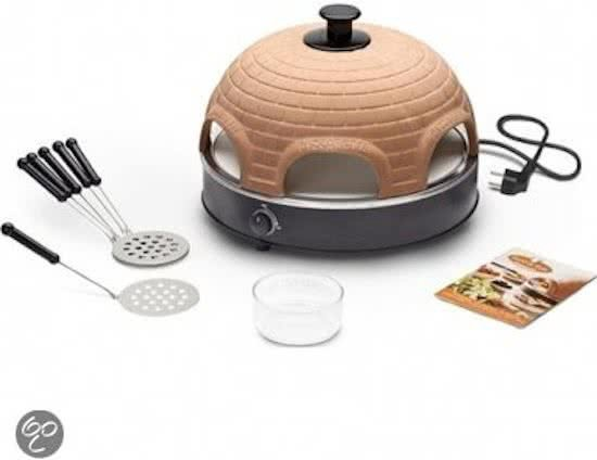 Bolcom Pizzarette Stone Pizzaoven 6 Persoons