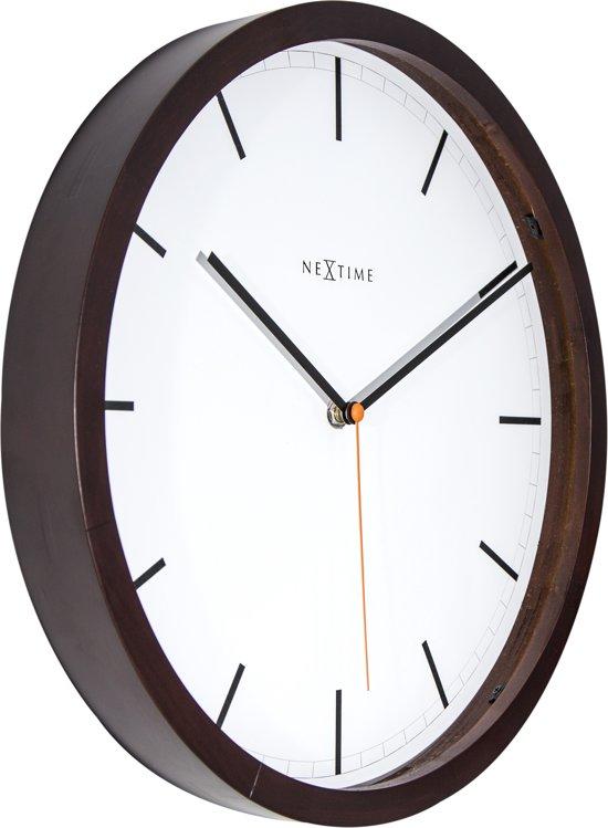 NeXtime Company Wood Wandklok à 35 cm