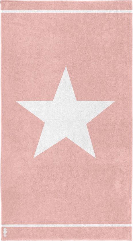 Seahorse Star - Strandlaken - 100 x 180 cm - Pink
