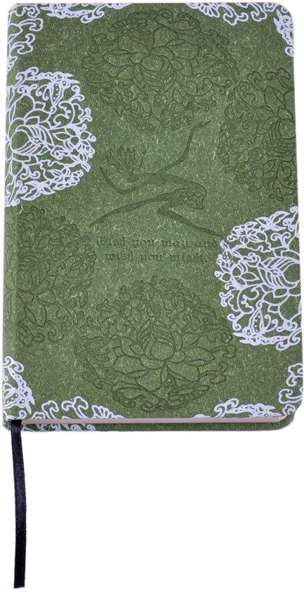 Notitieboekje met bloemen – Groen