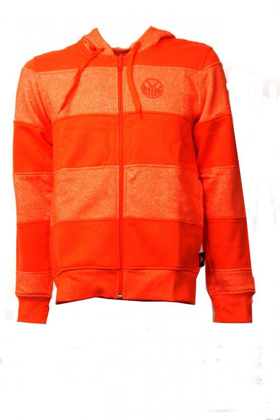 462cdcb05b1 bol.com | Adidas Nba Pk Fz Hood Ny Knicks Vest Heren Oranje Maat S
