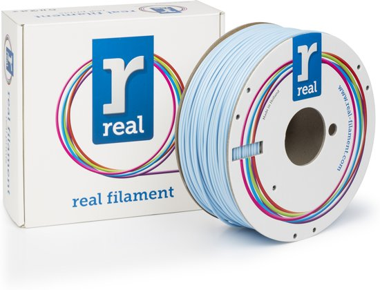REAL Filament ABS licht blauw 2.85mm (1kg)