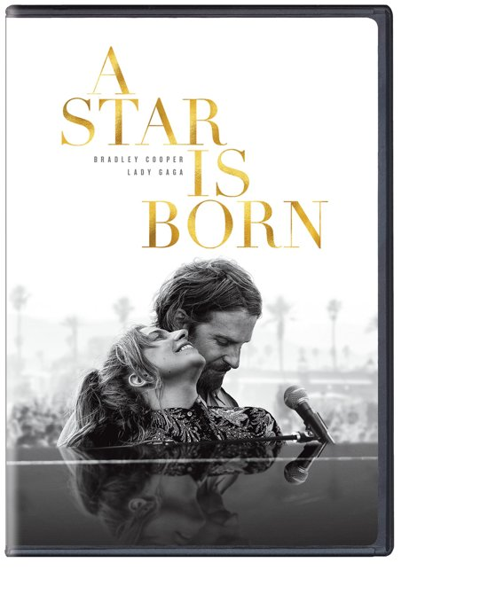 DVD cover van A Star Is Born