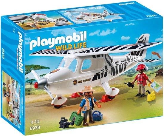 Playmobil Safari vliegtuig - 6938