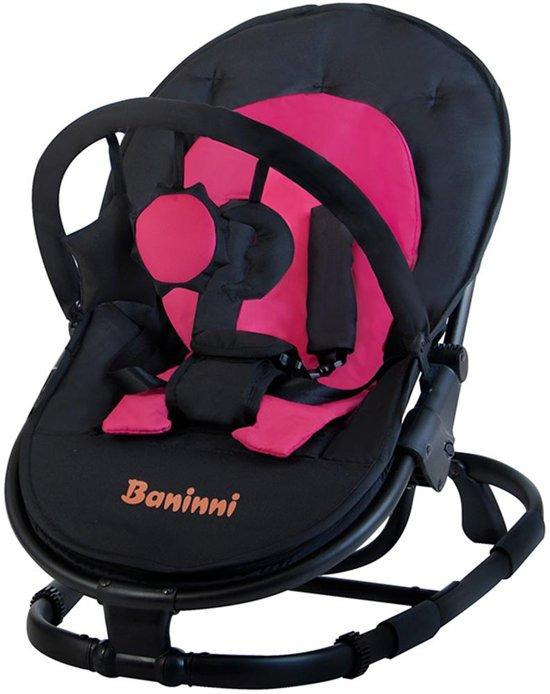 Wipstoel Baninni Coolio Black-Pink (incl. speelboog)