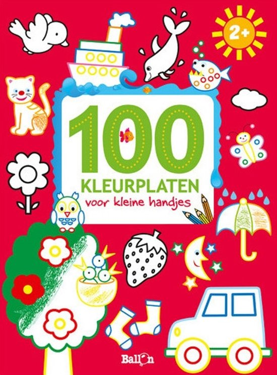 Studio 100 Kleurplaten Spelletjes.Bol Com 100 Kleurplaten Voor Kleine Handjes Diverse