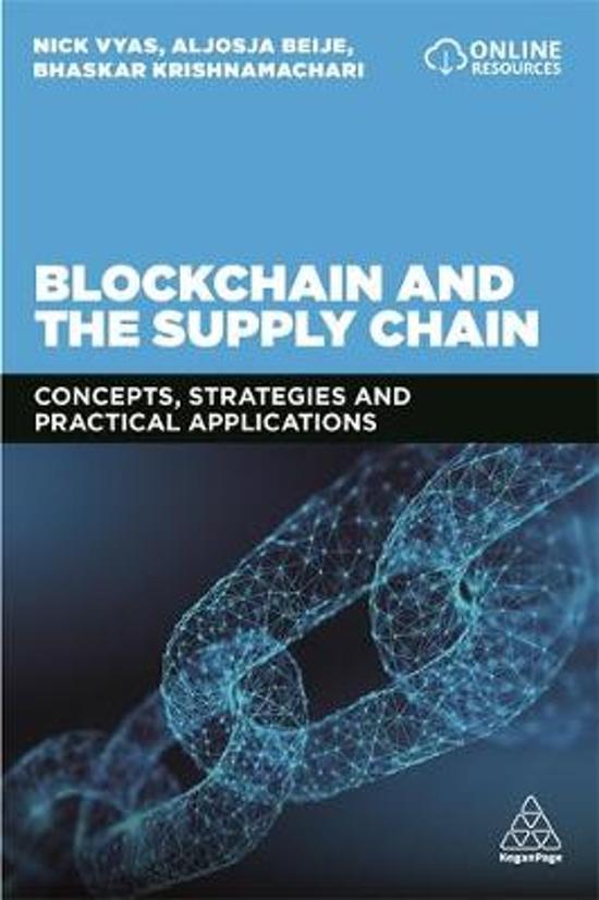 bol com | Blockchain and the Supply Chain, Nick Vyas | 9780749484026