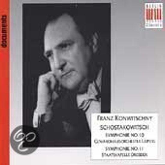 Dmitri Shostakovich: Symphonien No. 10 & 11
