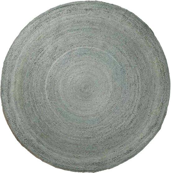 LaForma Dip - Vloerkleed - Blauw jute - rond - 200cm