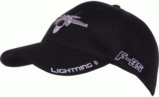 Fostex Baseball Cap F-35 Lightning II zwart 614bc23b6a5