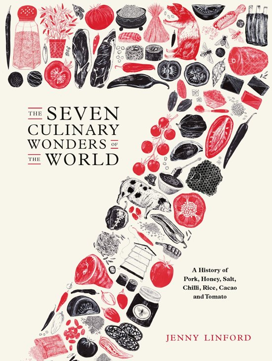 Boek cover The Seven Culinary Wonders of the World van Jenny Linford (Onbekend)