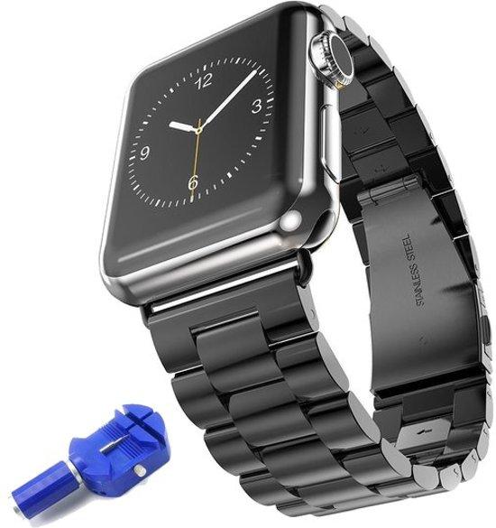 Stainless Steel Horloge Band 38MM Voor de Apple Watch Series 2 - Roestvrij Staal Watchband Voor de iWatch