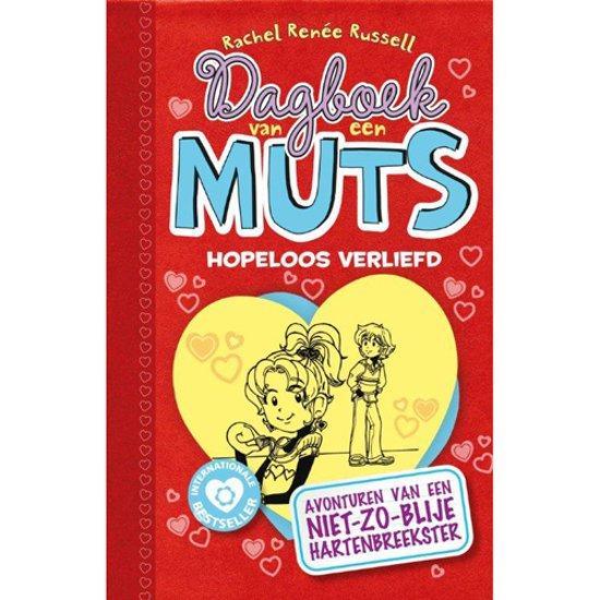 Boekomslag voor Dagboek van een muts - Hopeloos verliefd
