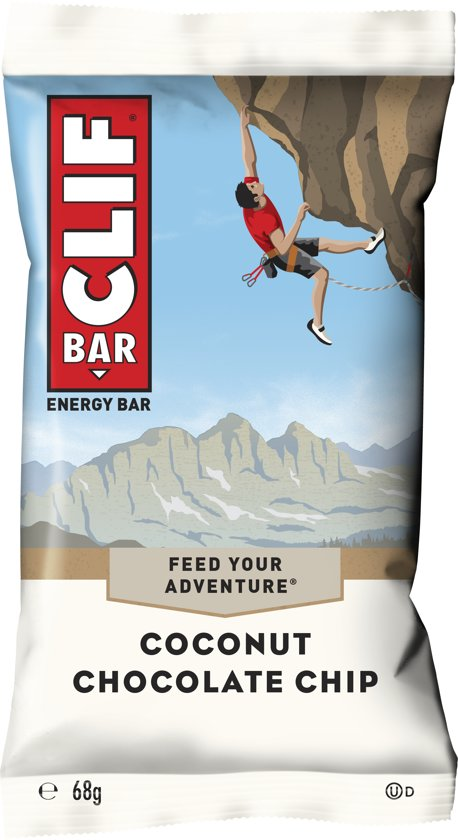 Clif Bar Coconut Chocolate Chip 12pk/box