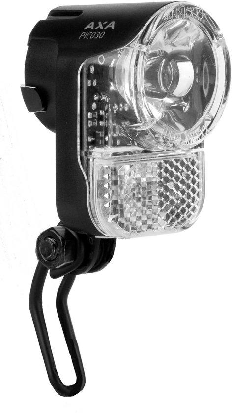 axa pico steady auto koplamp fiets led 30 lux dynamo