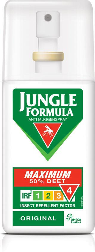 Mug - Jungle Formula Maxim Original - 50% DEET - 75 ml - Anti-muggenspray