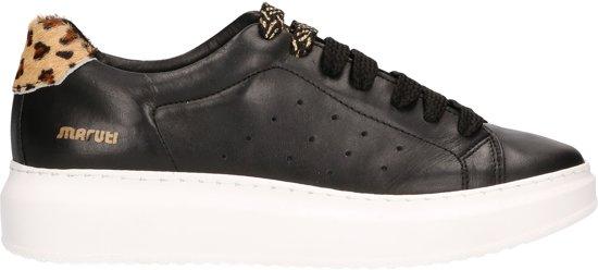 gloednieuw top ontwerp buy Maruti Dames Sneakers Claire Zwart Leer - Zwart - maat 38