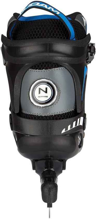 Nijdam Norenschaats Semi Softboot - Unisex - Zwart/Blauw - Maat 45