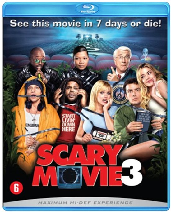 Cover van de film 'Scary Movie 3'