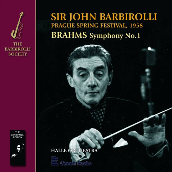 Brahms: Symphony No.1; Weber: 'oberon' Overture