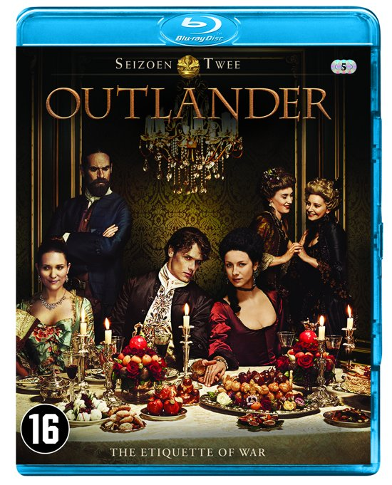 DVD cover van Outlander - Seizoen 2 (Blu-ray)