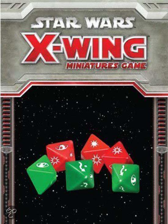 Thumbnail van een extra afbeelding van het spel Star Wars X-Wing - Dice Pack