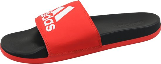 Adidas Cf Adilette Plus Logo Slippers Volwassenen - Active Red / Cloud White Core...