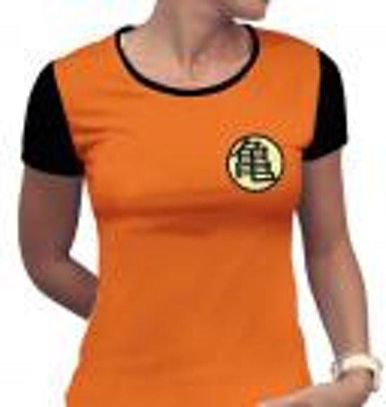 Bol Dragon Ball Tshirt Kame Symbol Woman Ss Orange Basic