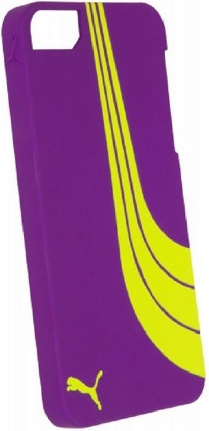 Puma Formstripe Hard Case voor Apple iPhone 5/5S/SE - Paars/Groen