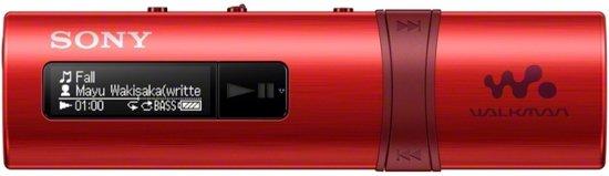 Sony NWZ-B183F Walkman - MP3-Speler - 4 GB - Rood