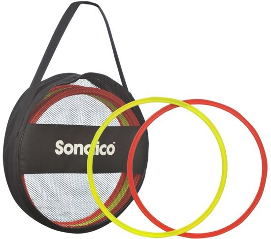 Coördinatieringen set met 12 ringen en draagtas