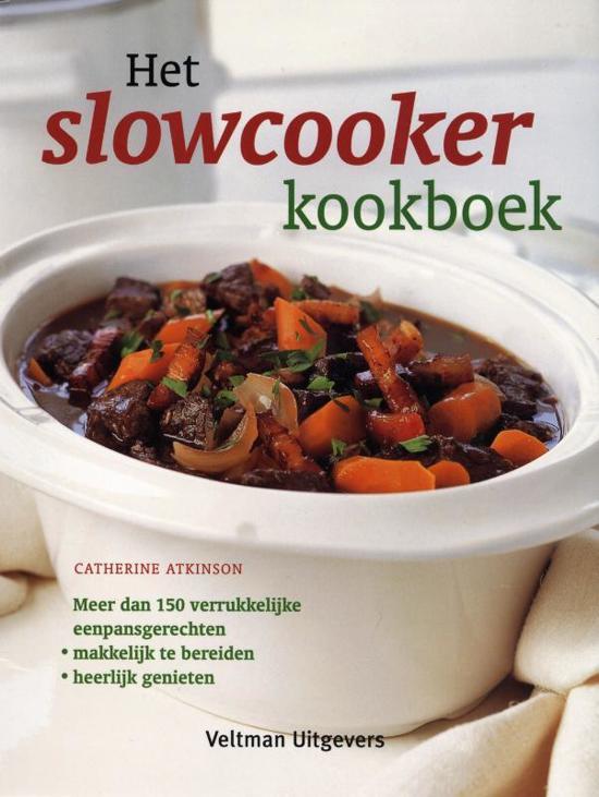 Boek cover Het slowcooker kookboek van Catherine Atkinson (Paperback)