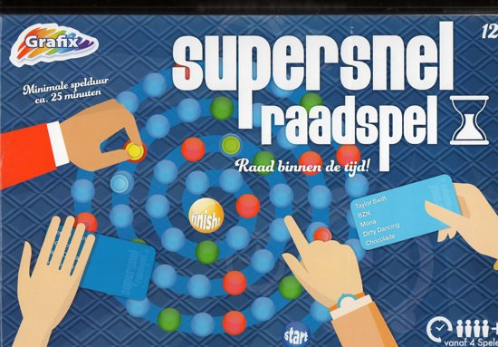 Afbeelding van het spel Supersnel raadspel