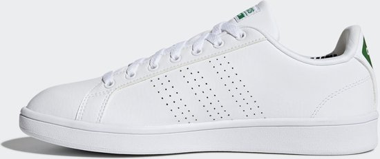 Adidas Advantage 1 White green Ftwr White 37 Cf Maat Heren Cl Sneakers 3 ftwr r5xRwrBq7