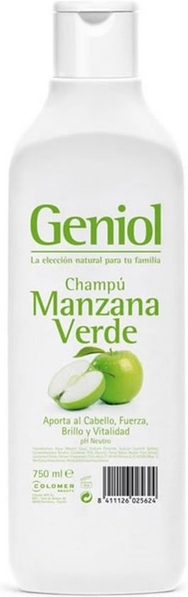 MULTI BUNDEL 3 stuks Geniol Green Apple Shampoo 750ml