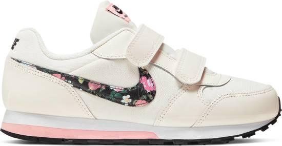 Nike Md Runner 2 Vf Gpv Meisjes Sneakers Pale IvoryBlack Pink Tint White Maat 32