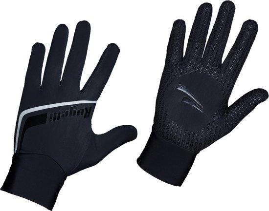 Rogelli Burlington - Fietshandschoenen - Unisex - Zwart - Maat XXXL
