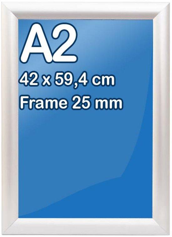 bol | kliklijst a2-formaat 42 x 59,4 cm, frame 25 mm