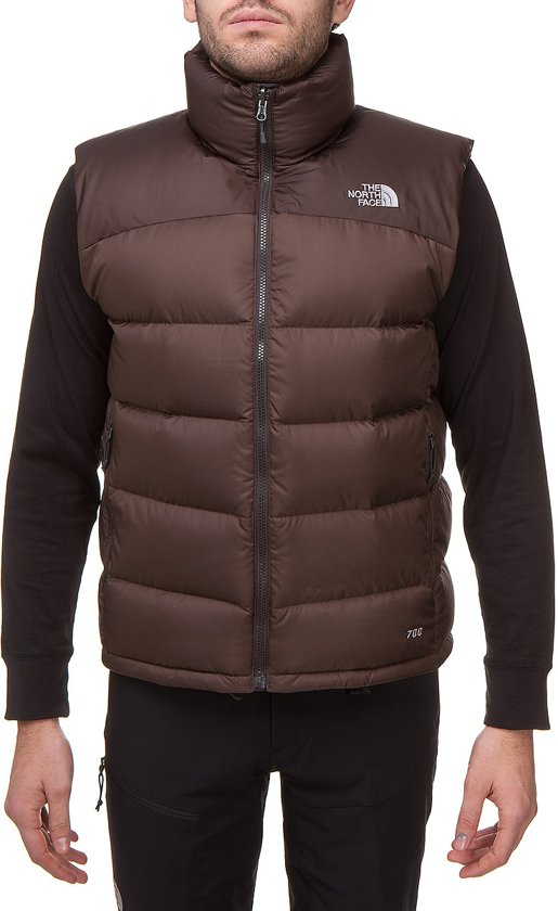 ea62bacb6d The North Face Nuptse 2 bodywarmer bruin Maat L