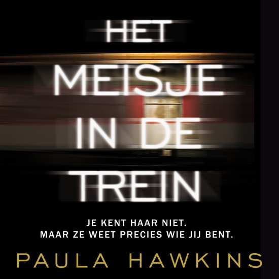 Boek cover Het meisje in de trein van Paula Hawkins (Onbekend)
