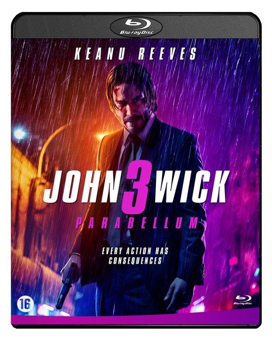 DVD cover van John Wick 3 (Blu-Ray)