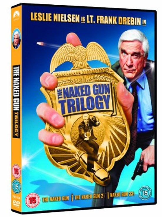 DVD cover van Naked Gun Trilogy (Import)
